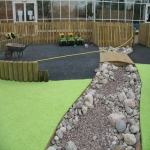 Wetpour Playground Surfacing in Bogs Bank 1