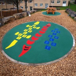 Wetpour Playground Surfacing in Bogs Bank 11