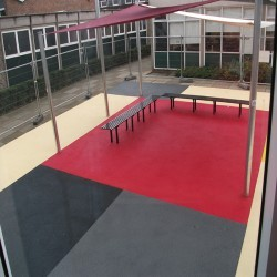 Rubberised Playground Surfacing in Blaguegate 5
