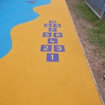 Rubberised Playground Surfacing in Blaguegate 12