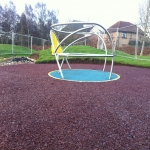 Rubber Play Area Mulch in Beeswing 9