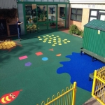 Rubber Play Area Mulch in Bracon Ash 3