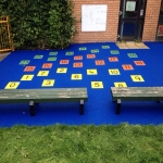 Play Area Safety Surfacing in Adlington Park 2