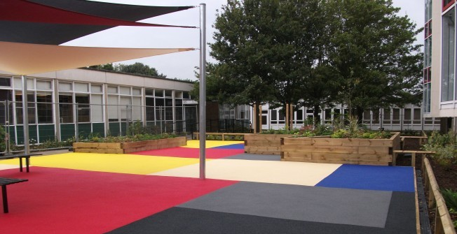 Wetpour Play Area in Berry Cross