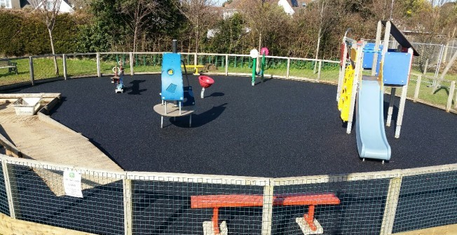 Rubber Play Area Flooring in Ash