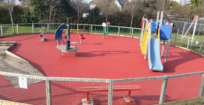 Soft Playground Surfacing in Bodfari
