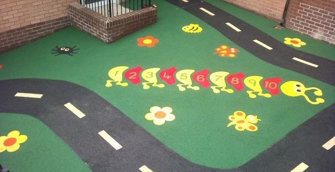 Children's Play Area Flooring in Ardington