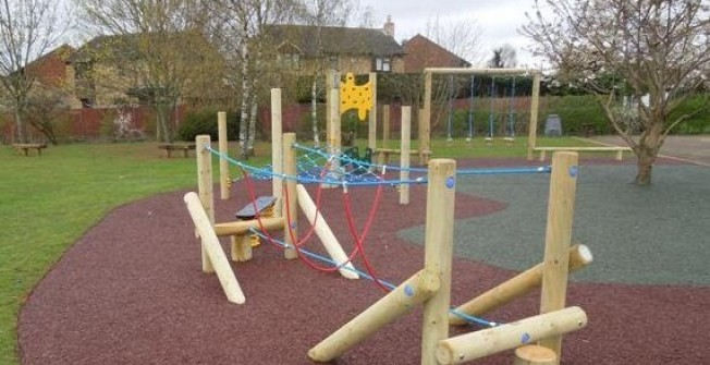 Playground Rubber Bark in Banwell