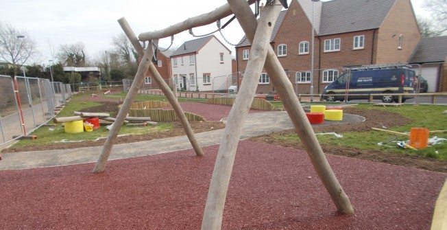 Bonded Mulch Surfacing in Ball o' Ditton