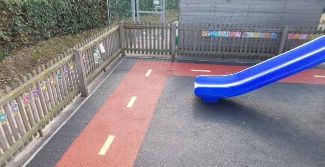 Playground Surface Designs in Blakeley Lane