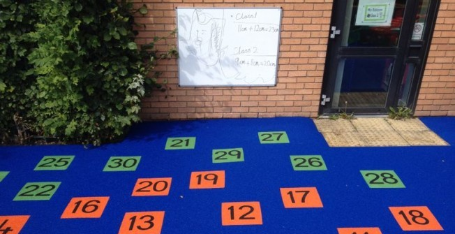 Playground Surfacing Designs in Ashwick