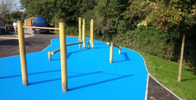 Playground Safety Surfaces in Bletchingdon
