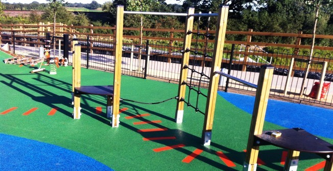Safe Playground Surfacing in Berry Cross