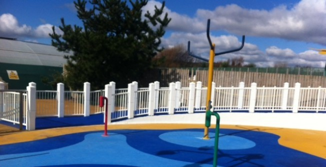 Children's Playground Surfaces in Albury